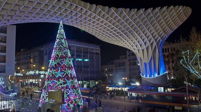 La Navidad en Sevilla es diferente en Ochoa